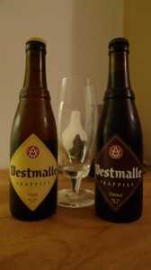 Westmalle Tripel and Dubbel