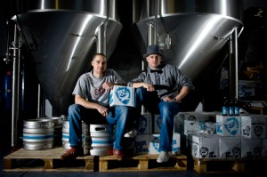 James and Martin from Brewdog