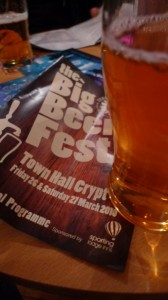First Middlesbrough Beer Festival Pint
