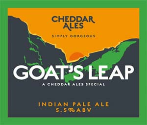 cheddar ales, goats leap beer review