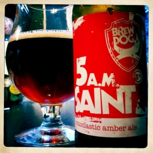 Brewdog 5.a.m Saint beer review and tasting notes on beer blog