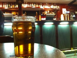 Keswick Thirst Rescue Beer in the Scafell Hotel