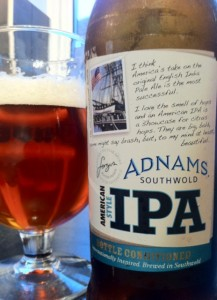 adnams american ipa beer review on beer blog