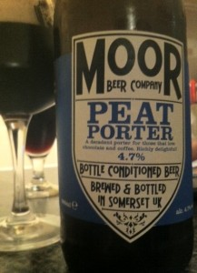 moor peat porter on beer reviews beer blog