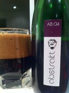Brewdog Abstrakt AB:04 beer review on beer blog