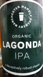 Marble Lagonda IPA beer review on beer blog