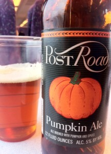 Post road pumpkin ale, delicious!