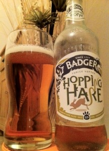 Badger hopping hare beer on beer blog