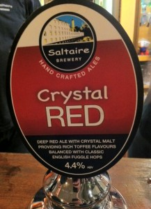 saltaire crystal red