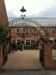 Old mill brewery entrance