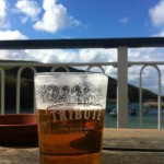 St Austell Tribute on a pub balcony