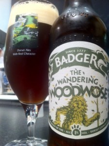 Badger wandering woodwose