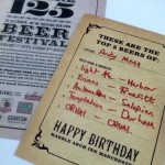 Marble Arch 125th Birthday Beer Festival and my top 5 beers
