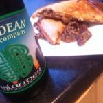 Haggis and Beer Toastie