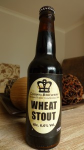 Crown Brewery Wheat stout
