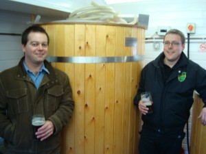 Jason and Denzil from Great Heck Brewing Company