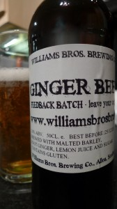 Williams Brothers Ginger Beer