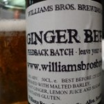 Williams Brothers Ginger Ale (3.8%)