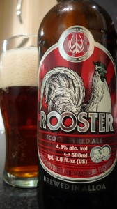 Williams brothers rooster beer review