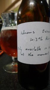 Adnams Extra Real ale review