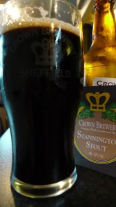 Crown brewery Stannington Stout Beer Review