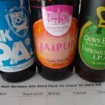 Big Blind Punk IPA vs Jaipur vs UIPA Tasting