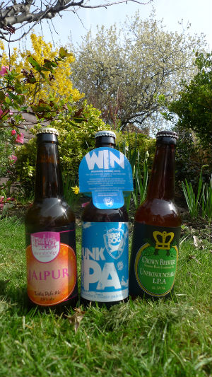 Perfect day for drinking jaipur, punk and uipa