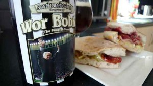 Wor Bobby with Bacon,Brie and Cranberry Stottie
