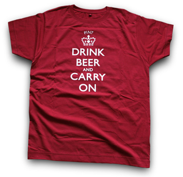 Drink Beer and Carry on t-Shirt on beer blog