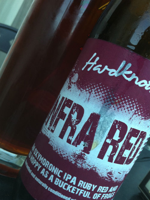 Hardknott Infra Red beer review on beer blog