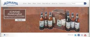 Adnams website
