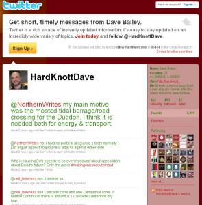 Hardknott on twitter