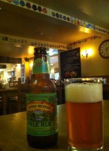 Sierra Nevada Pale Ale in Tweedies Bar Grasmere