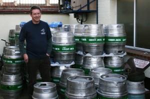 tim from Green jack brewery on beer reviews beer blog