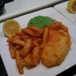 Beer and Chilli Battered Fish n Chips
