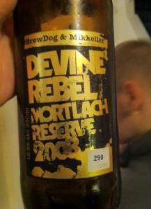 brewdog and mikkeller devine rebel mortlach reserve 2008