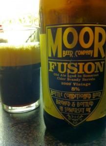 Moor Fusion beer on beer reviews beer blog