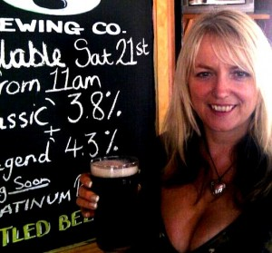 Dawn with a pint of legend