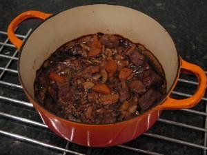 beef and mushroom casserole with beer recipe
