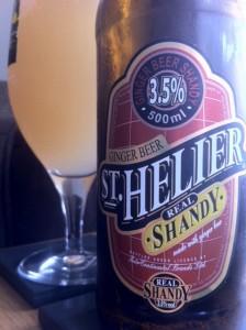 st hellier ginger beer shandy