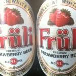Fruli Strawberry Beer (4.1%)