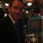 Congratulations Stuart Howe IBD APPBG Brewer of The Year 2011
