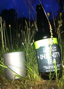 Coniston Infinity IPA from a Titanium Mug