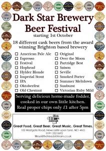 Dark Star Beer Festival
