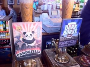 Pandazilla and Darkhorse