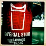 Bristol Beer Factory Imperial Stout aged in Laphroaig casks