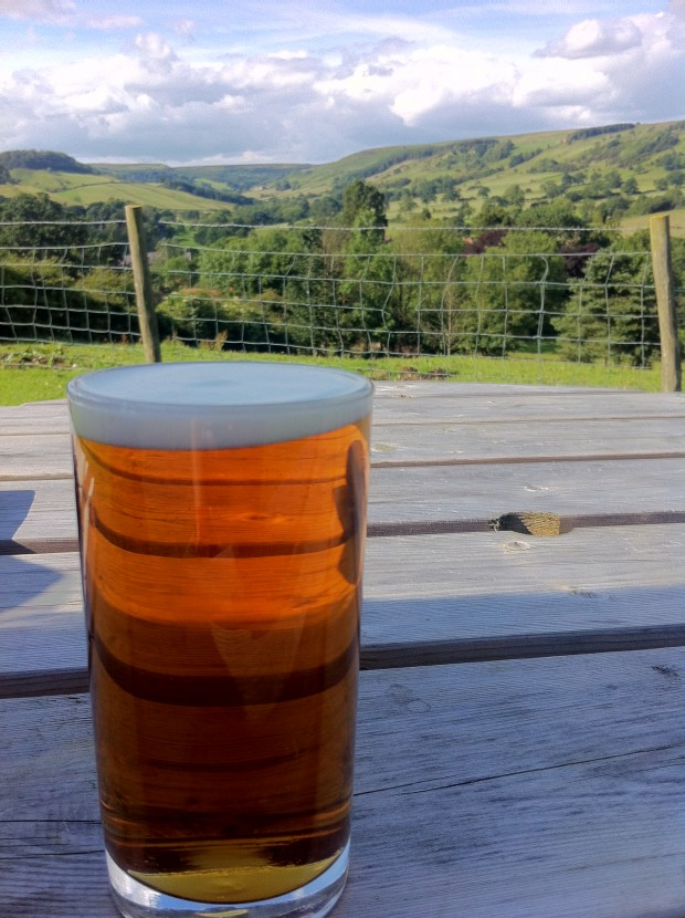 The view from the White Horse Inn at Rosedale