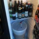 dry hopping in the fridge