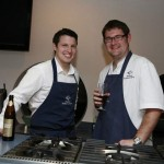 Ian and myself at Sharps Connoisseur Cook off