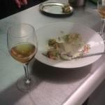 My dish demolished in Nathan's kitchen